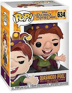 POP Funko - Quasimodo Fool - O corcunda de Notre Dame #634