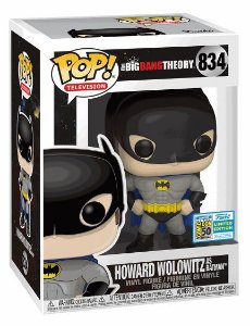 POP Funko - Howard Wolowitz as Batman #834