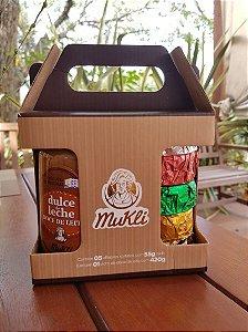 BOX MUKLI DULCE DE LECHE E 5 ALFAJORES