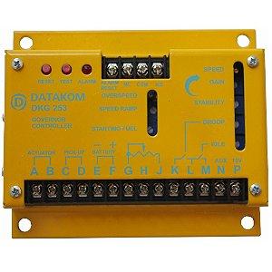 Regulador De Velocidade Dkg253 Para Grupo Gerador