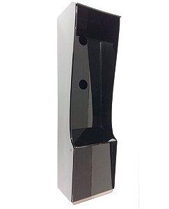 Proteção tripla -Câmera, interfone e leitor biométrico
