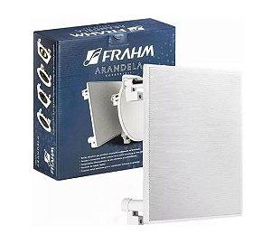 """Arandela Frahm - 6"""" FR  40W Quadrada Caixa de Som de Embutir"""