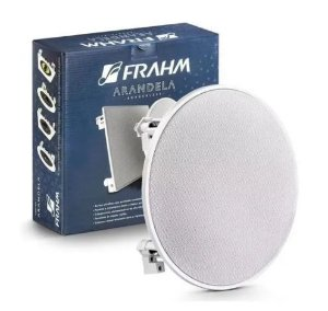 "Arandela Frahm - Arandela 6"" Coaxial 40W Redonda Caixa de Som de Embutir"