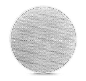 "Arandela Frahm - 6"" Coaxial 50W Redonda c/ Telar de Alumínio Caixa de Som de Embutir"