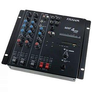 Mesa de Som Frahm - MXF 4 canais USB