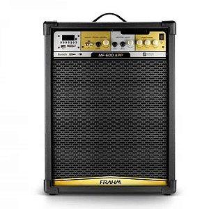 Caixa de Som Amplificada Multiuso Frahm - MF 600 APP Bluetooth 500W