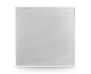 """Arandela Frahm - 6"""" cx 100w Branca Quadrada  Caixa De Som Ambiente"""