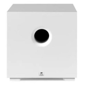 Subwoofer Ativo Aat Compact Cube 8 200w Branco