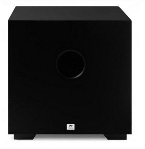 """Subwoofer Ativo AAT Compact Cube 8"""" 100W Rms Preto"""
