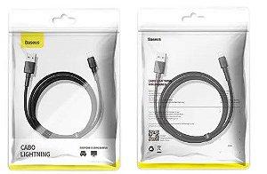 Cabo Lightining Para iPad E iPhone - 1m 2.4a Baseus Mini