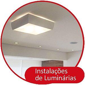Instalação, Troca ou Retirada de Lustres e Luminárias