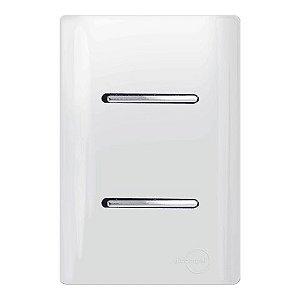 Interruptores Duplo Simples - Dicompel Novara - 1200/5