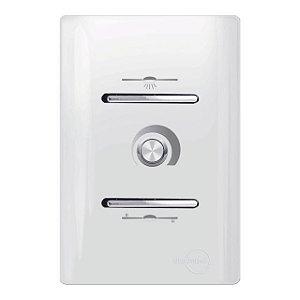 Interruptor c/ Controle de Ventilador 127V - Dicompel Novara - 7800/26