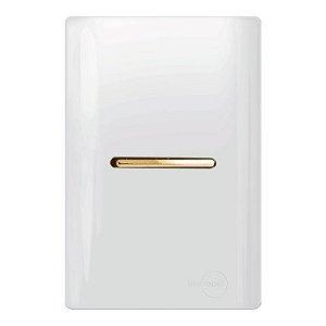 Conjunto 1 Interruptor Paralelo Horizontal - Dicompel Novara - 1200/4-Gold