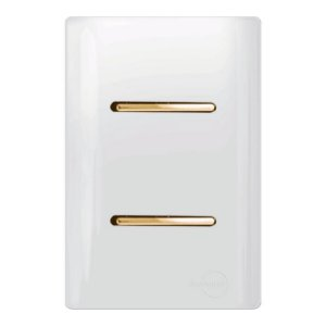 Interruptores duplo Paralelos - Dicompel Novara - 1200/6-Gold
