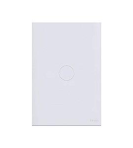 Interruptor Touch 1 Tecla Branco Lumenx Linha Glass 4x2