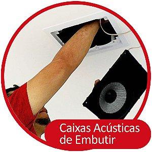Instalação de Caixas Acústicas de Embutir