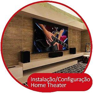 Instalação e Configuração do Kit de Home Theater 5.1