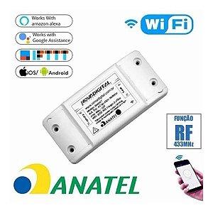 Novadigital Interruptor 2.4GHz  Wifi Automação Residencial Original