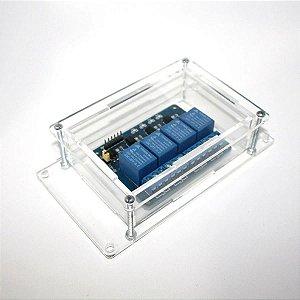 Caixa Case Para Montagem De Circuito Eletrônico