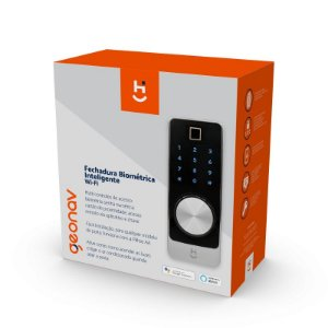 Fechadura Inteligente Digital Wi-Fi com Biometria Geonav