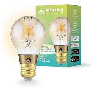 Smart Lâmpada Retro Wifi Positivo Casa Inteligente