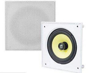 Arandela JBL CI8S 100W Rms Branca Quadrada De Embutir