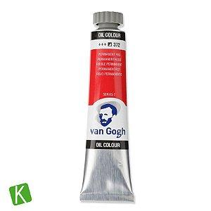 Tinta a Óleo Van Gogh 20ml 372 Vermelho Permanente