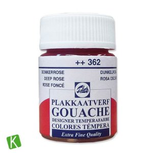 Guache Talens Extra Fine 16ml 362 Deep Rose