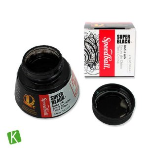 Tinta para Caligrafia Speedball Super Black 59,2ml