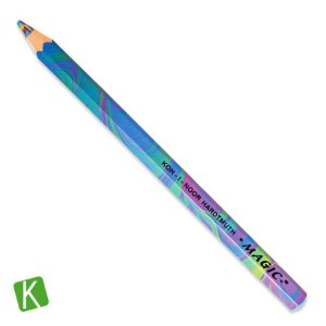 Lápis de Cor Multicolorido Magic Jumbo Koh-I-Noor Tropical