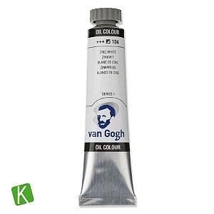 Tinta a Óleo Van Gogh 20ml 104 Zinc White
