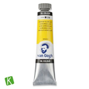 Tinta a Óleo Van Gogh 20ml 208 Cadmium Yellow Light