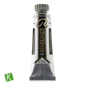 Tinta a Óleo Rembrandt 15ml 119 Transparent White