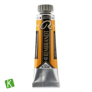 Tinta a Óleo Rembrandt 15ml 210 Cadmium Yellow Deep