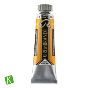 Tinta a Óleo Rembrandt 15ml 285 Permanent Yellow Deep