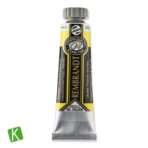 Tinta a Óleo Rembrandt 15ml 272 Transparent Yellow Medium