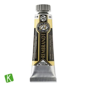 Tinta a Óleo Rembrandt 15ml 280 Nickel Tit Yellow Deep