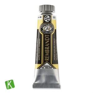 Tinta a Óleo Rembrandt 15ml 223 Naples Yellow Deep