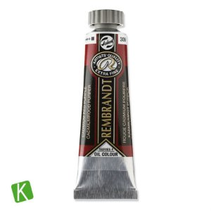 Tinta a Óleo Rembrandt 15ml 309 Cadmium Red Purple