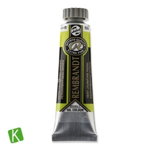 Tinta a Óleo Rembrandt 15ml 633 Permanent Yellow Green