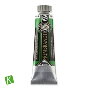 Tinta a Óleo Rembrandt 15ml 625 Cinnabar Green Medium