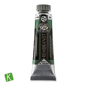Tinta a Óleo Rembrandt 15ml 668 Chromium Oxide Green