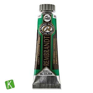 Tinta a Óleo Rembrandt 15ml 682 Cobalt Turquoise Green