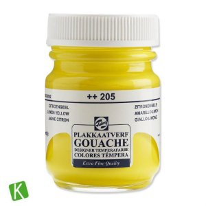 Guache Talens Extra Fine 50ml 205 Lemon Yellow