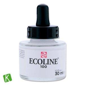 Ecoline Talens 100 White 30ml
