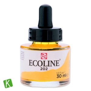 Ecoline Talens 202 Deep Yellow 30ml