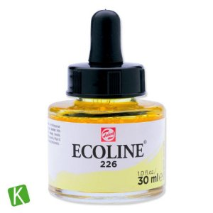 Ecoline Talens 226 Pastel Yellow 30ml