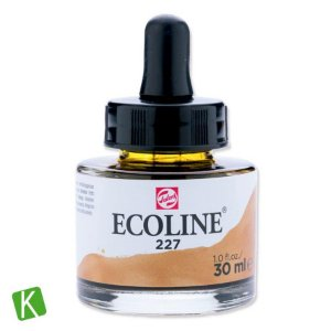 Ecoline Talens 227 Yellow Ochre 30ml