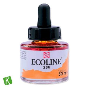 Ecoline Talens 236 Light Orange 30ml